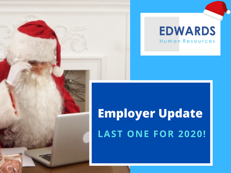 Last Employer Update for 2020!