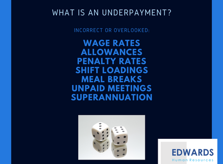 What is an Underpayment?