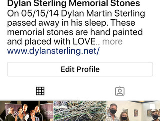 Dylan Sterling Memorial Stones is on Instagram!