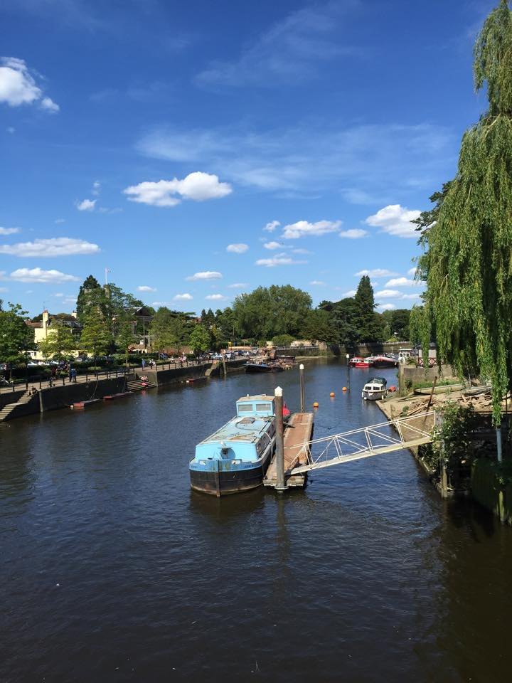 Eel Pie Island View, Twickenham, UK
