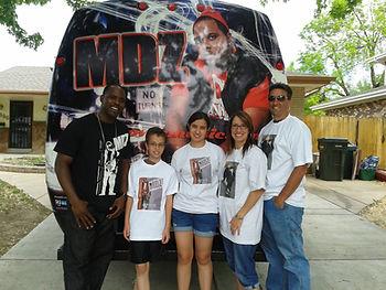MDZ auction tour 2012 charity Bowa Music Denver CO teamMDZ Gorilla Walk kids