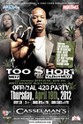 MDZ Too Short Top Flight Denver 2012 tour live performance Gorilla Walk 420 High Times Magazine party