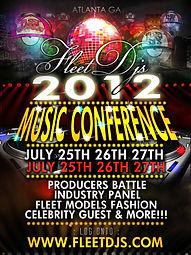 MDZ Fleet Djs Conference 2012 tour Atlanta GA College Park