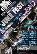 MDZ Juke Fest Chicago 2012 tour BTB My Type Juke Mix Dj Nehpets radio