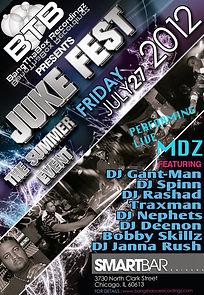 MDZ Live performance Juke Fest Chicago 2012 Tour