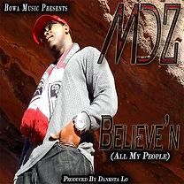MDZ - Believin cover art
