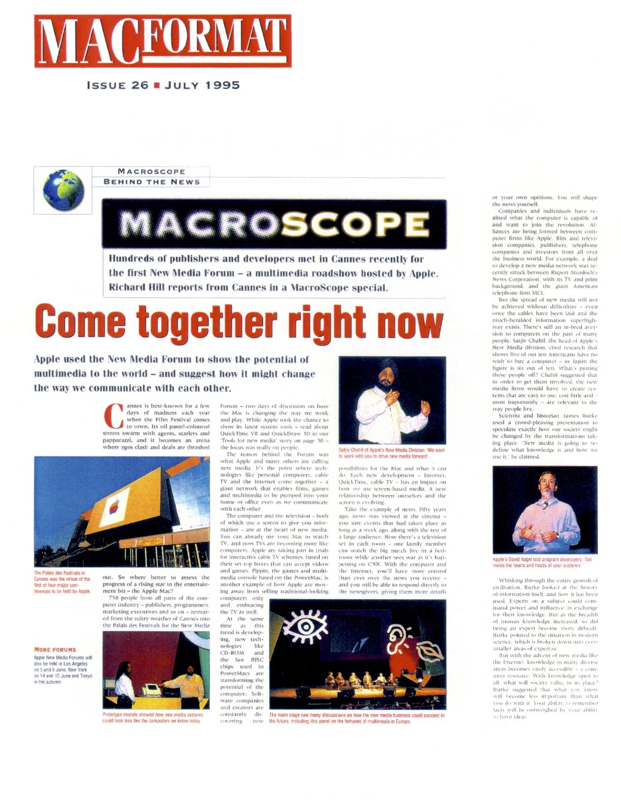 (1995) MACFormat Cannes