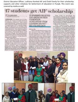 1.8 American India Foundation