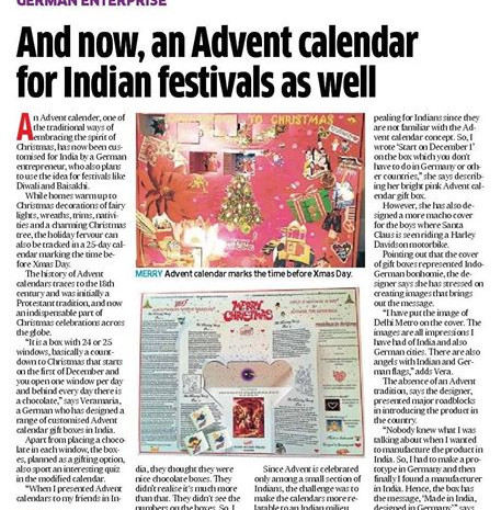 A nice article in the Deccan Herald, Ind