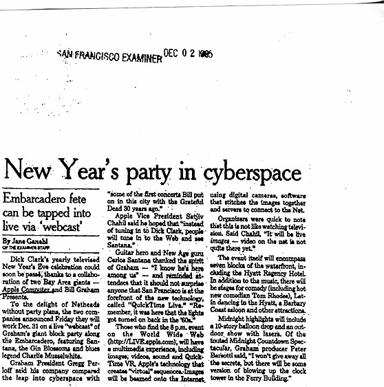 (1985) New Year's