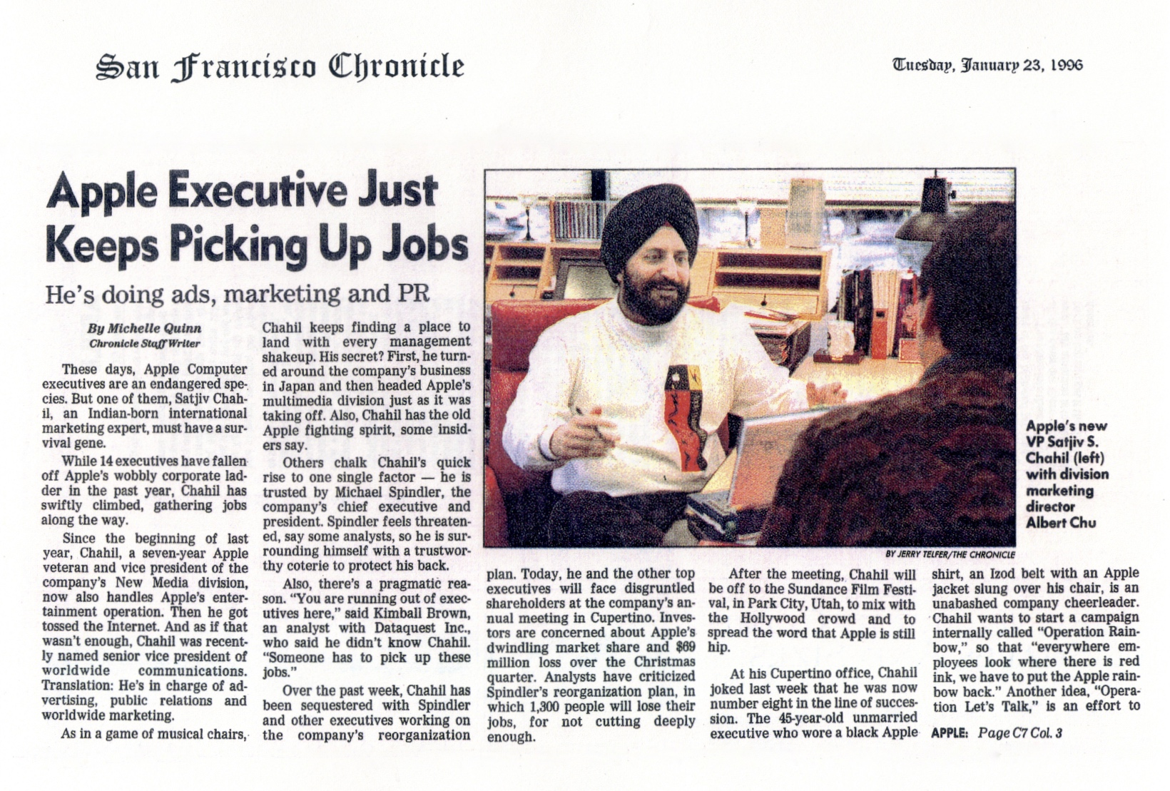 (1996) SF Cron Execs new jobs P1