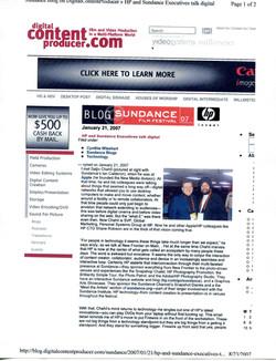 (2007) Digital Content Producer