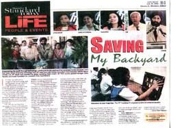 (2009) Standard Today _Saving my Backyard_