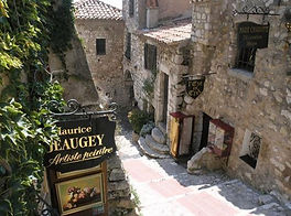 Eze Village near Villa Panorama in Eze France