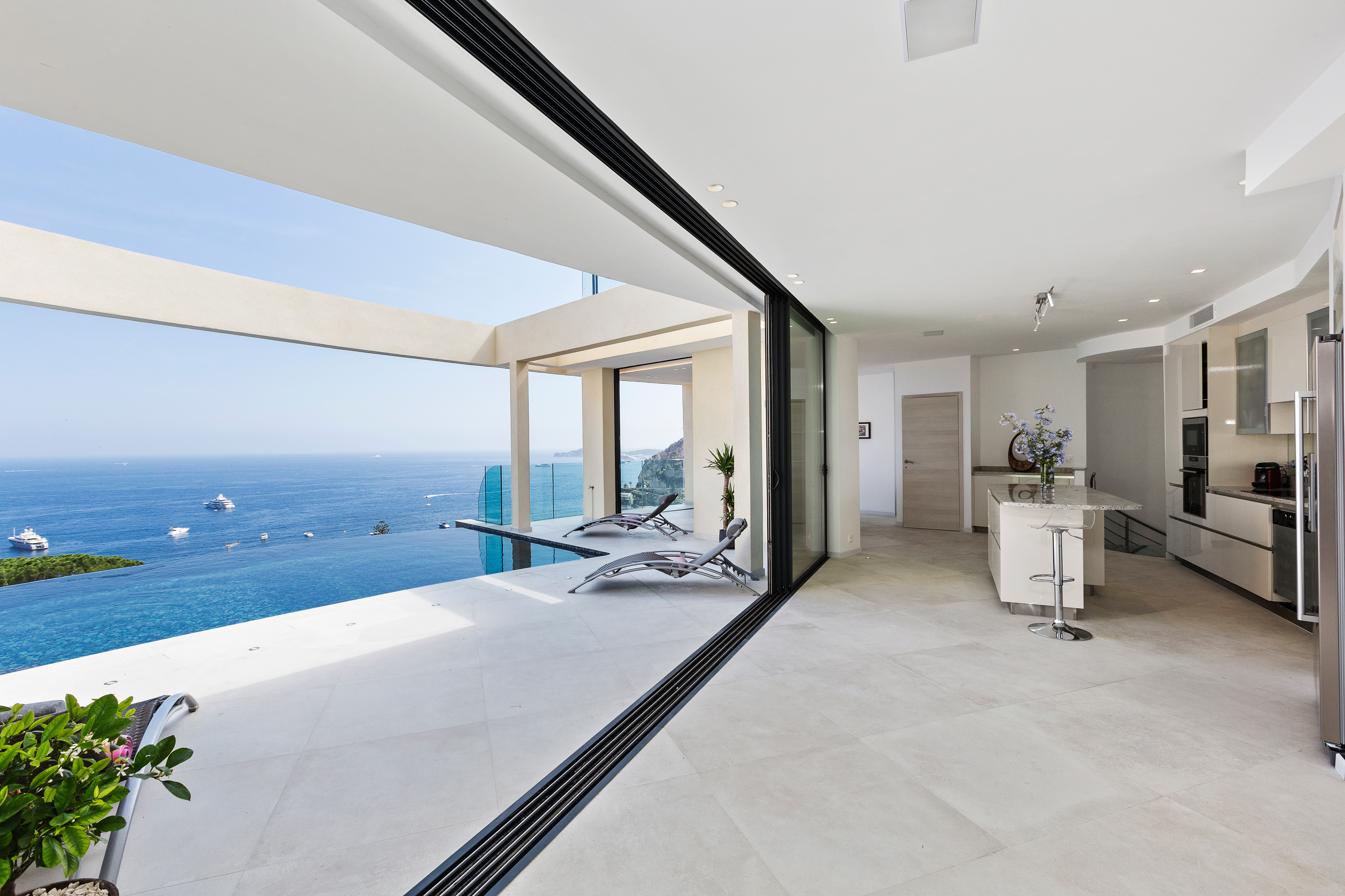 Living Room View to Terrace