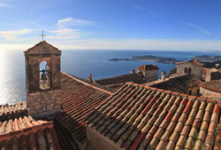 View from Eze Village
