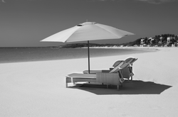 CJ Chairs Umbrella BW