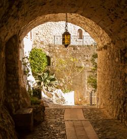 Walkway in Eze Village