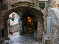 One of the dining options in Eze