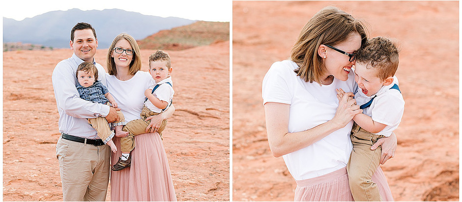 Family Session in Saint George, Utah - The Scherck Family