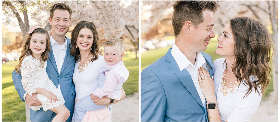 Spring Family Session at the Salt Lake Capitol Building - The Berentzen Family