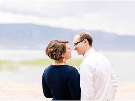 Couples Session at American Fork Boat Harbor