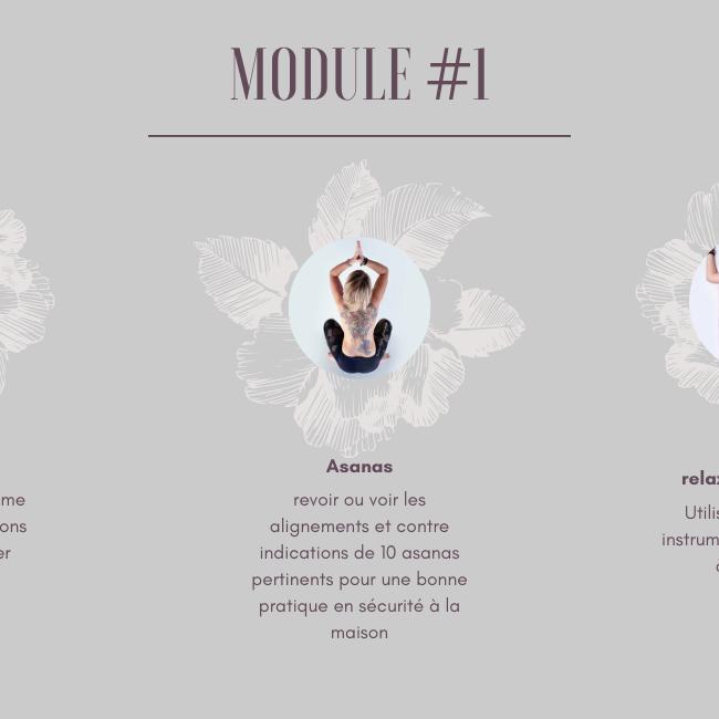 Atelier Yoga - module# 1