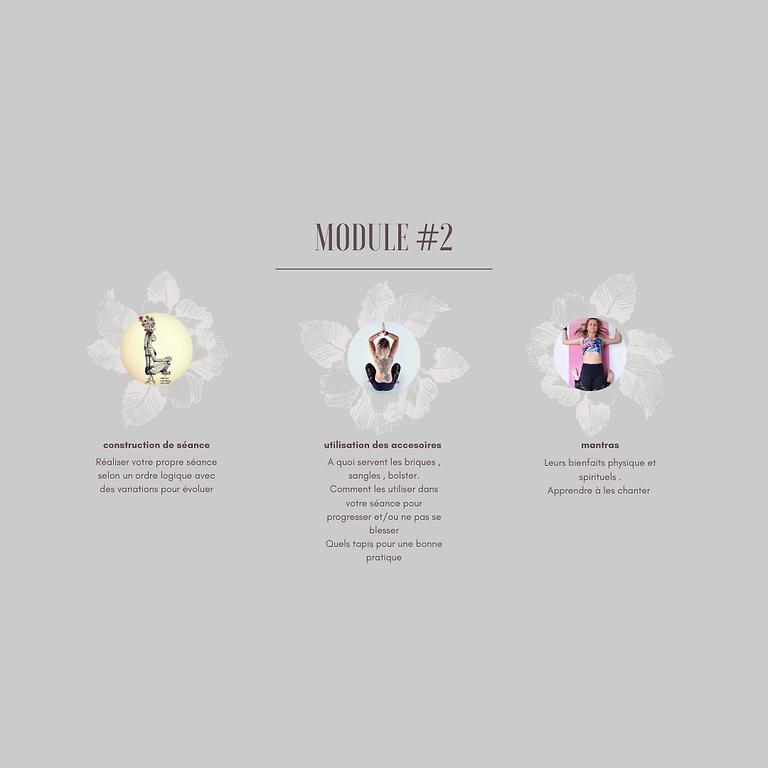 Atelier yoga - module#2