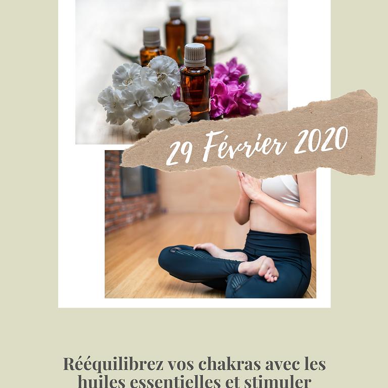 Atelier Aromathérapie énergétique et vibratoire & initiation au yin yoga