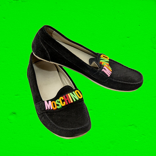 Moschino loafers sz 36