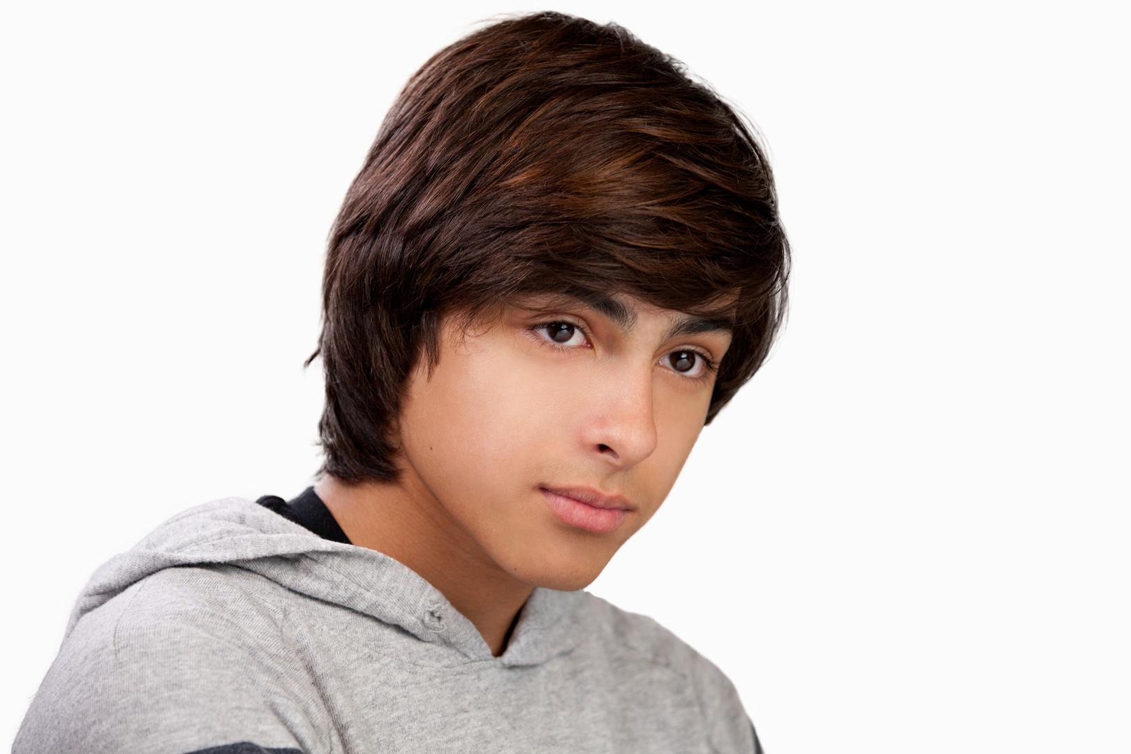 long layered mens haircut