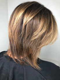 Full body layers on Fine hair
