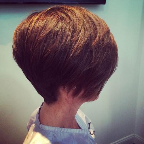 Full thick short haircut