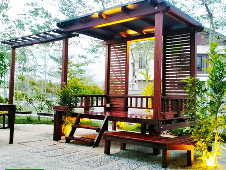 GARDEN WITH RUSTIC CHARM OF A KAMPUNG