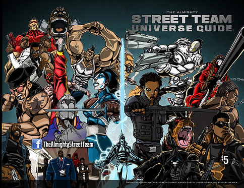 The Almighty Street Team Universe Guide