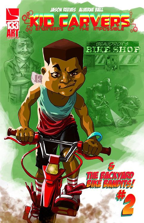 Kid Carvers and the Backyard Bandits #2
