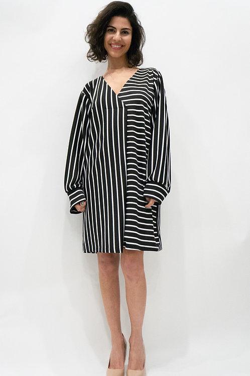 Stripe loose fit dress