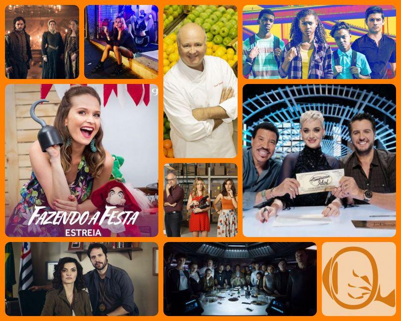 Resumão TV #41: Gunpowder, Rua Augusta, Cozinha do Bork, On My Block, Fazendo a Festa, Borges Importadora, American Idol, Rotas de Ódio e Alien: Covenant