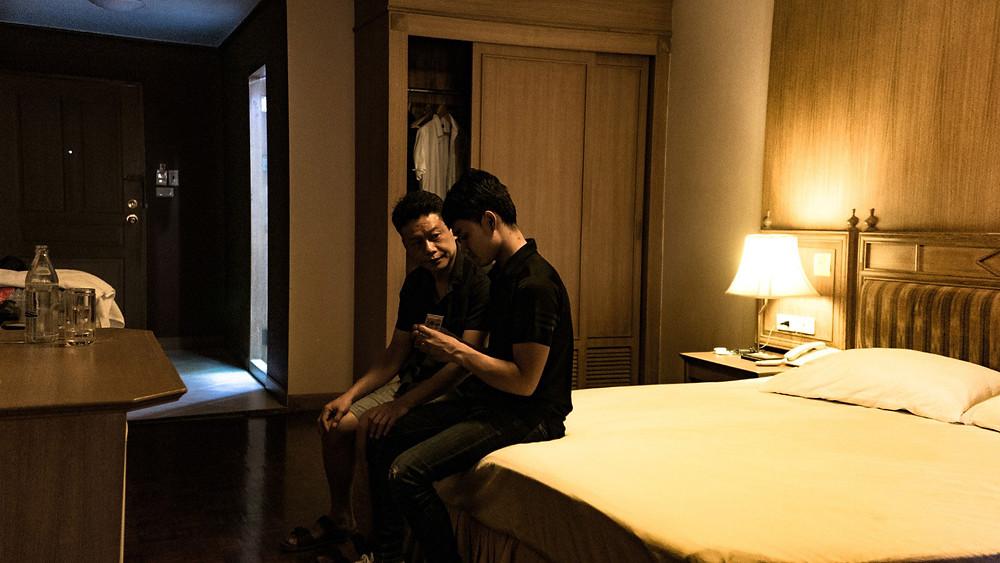 Lee Kang-Sheng e Anong Houngheuangsy em cena do filme taiwanês Dias (Rizi, 2019), de Tsai Ming-Liang | Foto: Divulgação (Mostra Internacional de Cinema em São Paulo)