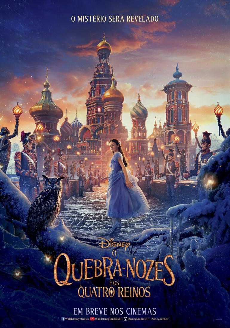 Teaser pôster de O Quebra-Nozes e os Quatro Reinos (2018) | Divulgação (Disney)