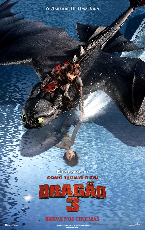 Cartaz de Como Treinar o Seu Dragão 3 (2019)   Divulgação (DreamWorks / Universal)