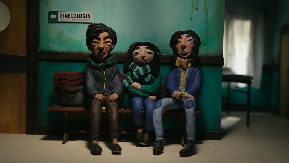Cena do documentário de animação argentino Vicenta (2020), de Darío Doria | Foto: Divulgação (É Tudo Verdade)