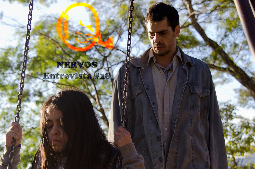 NERVOS Entrevista #18 | Nina Medeiros e Julio Machado em cena do filme nacional A Sombra do Pai (2018)