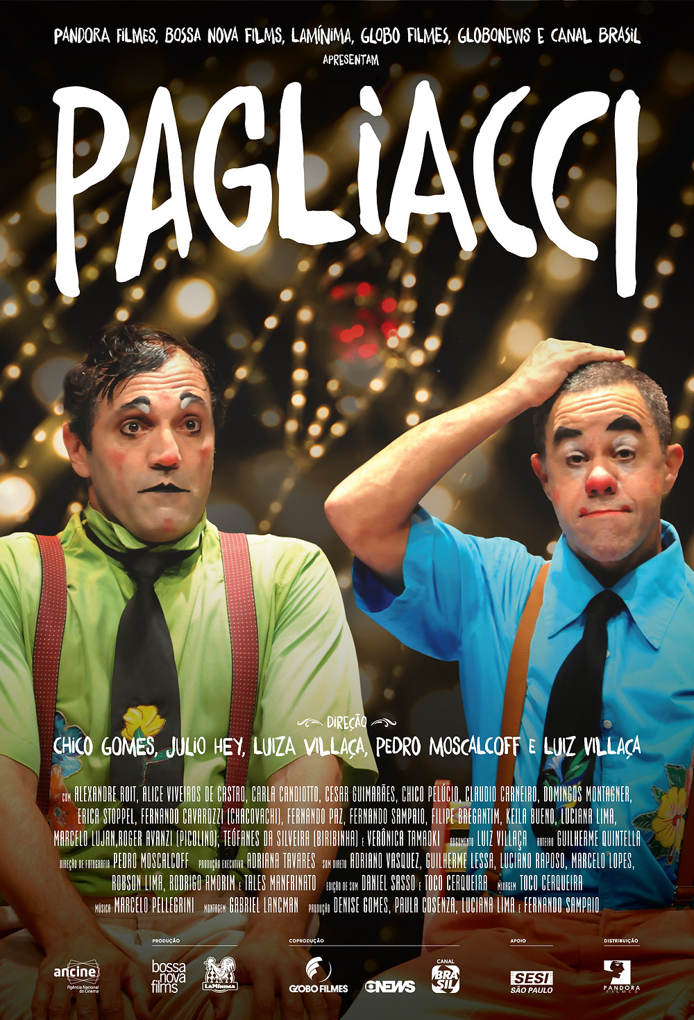 Cartaz do documentário Pagliacci (2018) | Divulgação (Pandora Filmes)