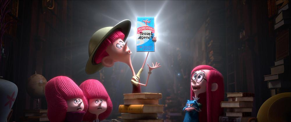 Cena da animação Os Irmãos Willoughbys (2020) | Foto: Divulgação (Netflix)