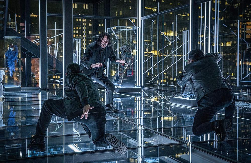 Keanu Reeves em cena do filme John Wick 3 – Parabellum (2019) | Foto: Divulgação