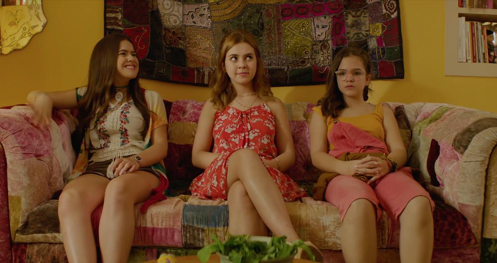 Maisa Silva, Klara Castanho e Mel Maia em Tudo Por um Pop Star (2018) | Foto: Divulgação