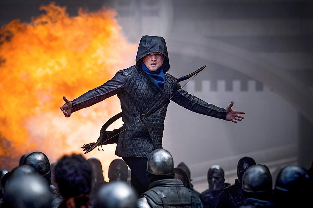 Taron Egerton em cena de Robin Hood – A Origem (2018)   Foto: Divulgação (Paris Filmes)