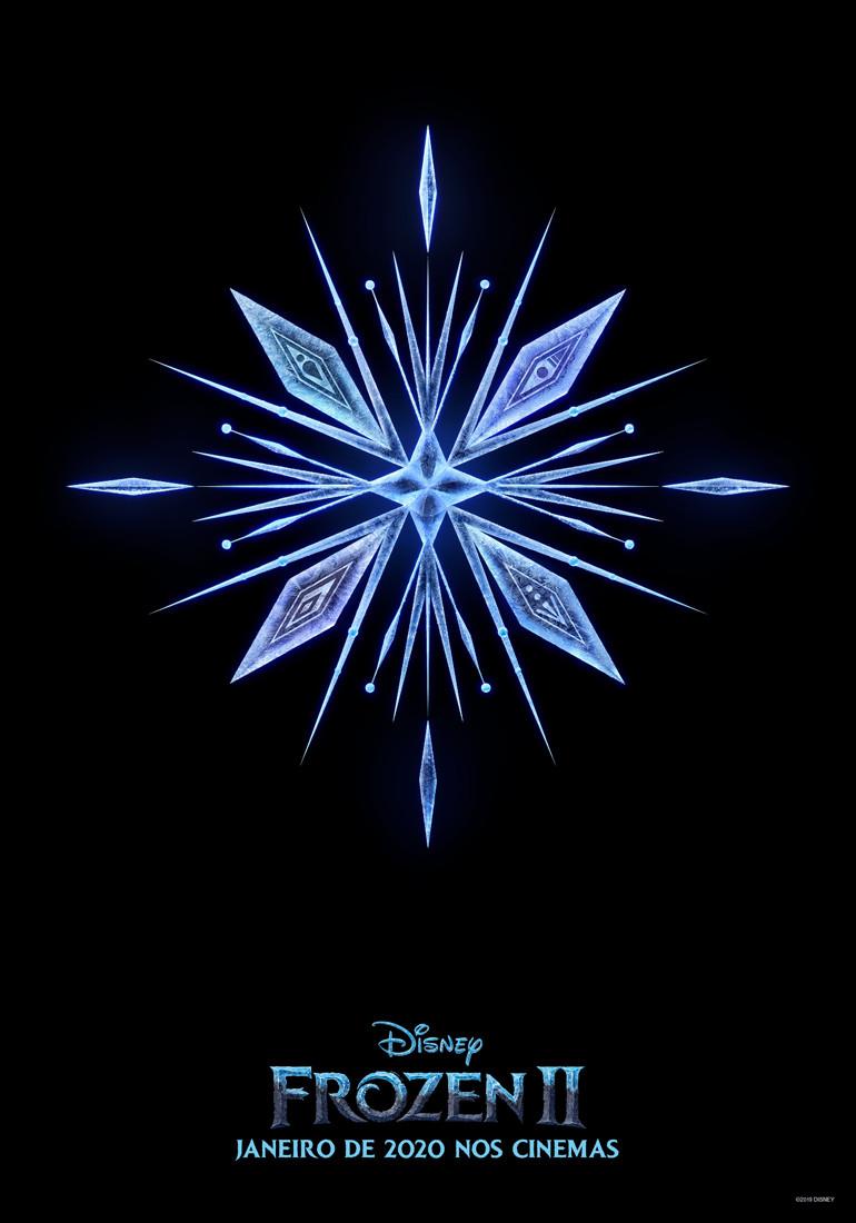 Teaser pôster da animação Frozen 2 (2019) | Divulgação (Disney)