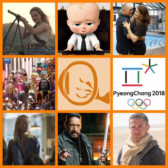 Resumão TV #36: Westworld (2016) S2 | O Poderoso Chefinho (2017) | The Blacklist (2013-) S5 | Carnaval | Jogos Olímpicos de Inverno de Pyeongchang | Homeland (2011-) S7 | Homens e Armas (2017-) | Strike Back (2010-) S5